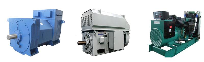 高压电机,发电机